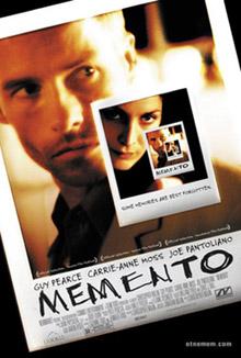 """Постер фильма """"Memento"""""""