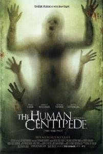 Человеческая многоножка постер