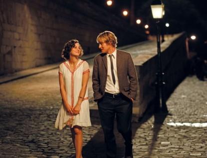 Полночь в Париже кадры
