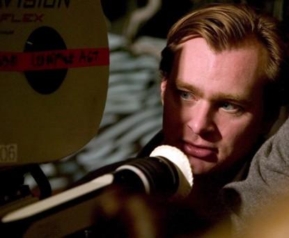 """Кристофер Нолан на съёмках фильма """"Бэтмен: Начало"""""""