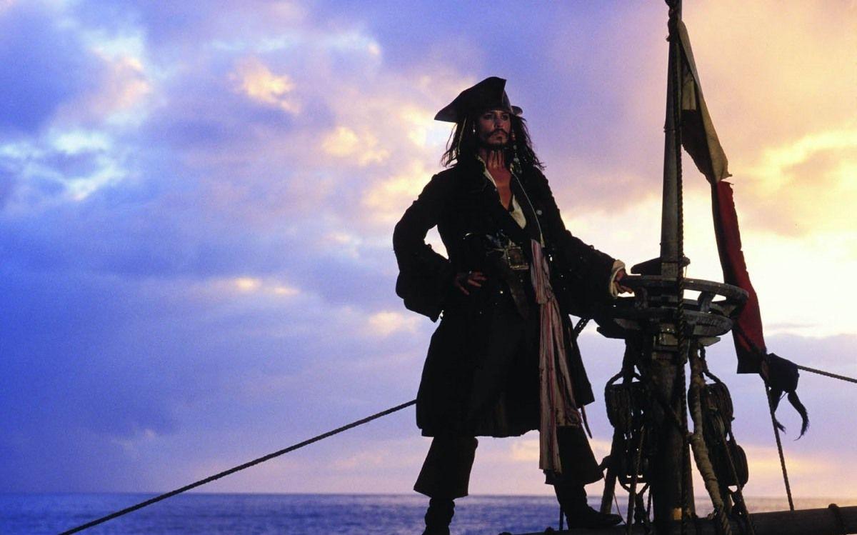 Капитан Джек Воробей - символ карибского пиратства