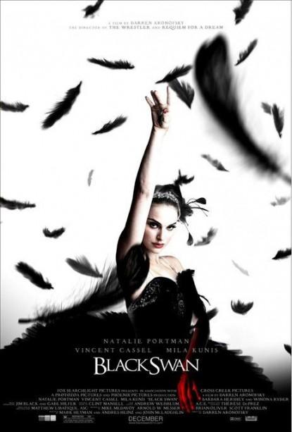 """Постер фильма """"Чёрный лебедь"""""""
