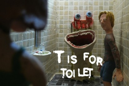 T is for Toilet