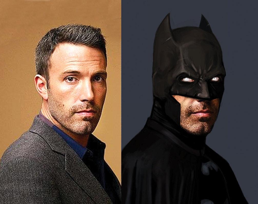 Аффлек и Бэтмен