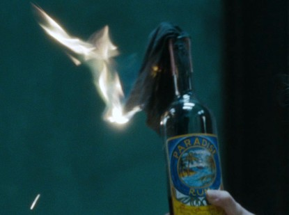 И бутылка с ромом тоже
