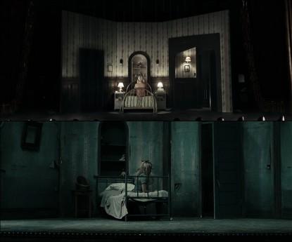 Одна и та же сцена в разных слоях