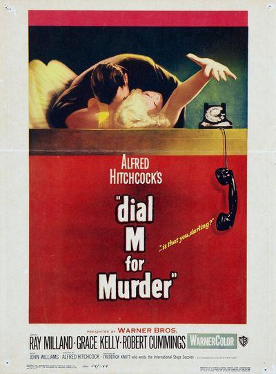 В случае убийства набирайте «М» (Dial M for Murder)