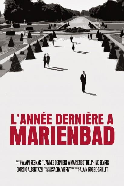 В прошлом году в Мариенбаде (L'annee derniere a Marienbad)